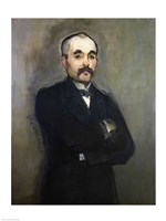 Portrait of Georges Clemenceau Fine-Art Print