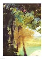 Dejeuner sur l'Herbe, 1863 ( trees detail) Fine-Art Print