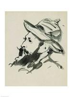 Head of a Man Fine-Art Print