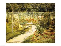 The Bench, The Garden at Versailles Fine-Art Print