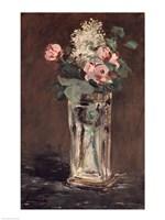 Flowers in a Crystal Vase Fine-Art Print