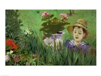 Child in the Flowers Fine-Art Print