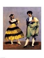 Spanish Dancers, 1879 Fine-Art Print