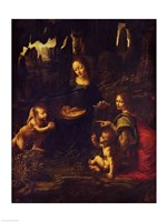 Madonna of the Rocks, c.1478 Fine-Art Print