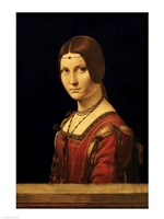 Portrait of a Lady from the Court of Milan Fine-Art Print