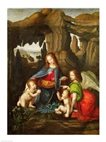 Madonna of the Rocks Fine-Art Print