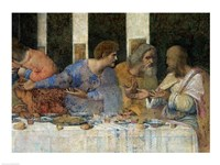 The Last Supper, (post restoration) E Fine-Art Print