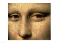 Mona Lisa, Face Detail Fine-Art Print