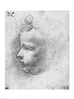 Head of a child Fine-Art Print