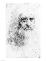 Self portrait - Sketch Fine-Art Print