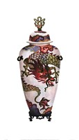 Dragon Vase Fine-Art Print