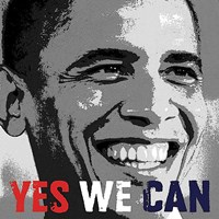 Barack Obama: Yes We Can Fine-Art Print