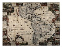 North and South America Fine-Art Print