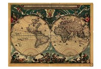 World Map 1664 Fine-Art Print