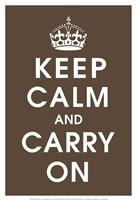 Keep Calm (chocolate) Fine-Art Print