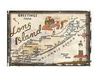 Greetings from Long Island Fine-Art Print