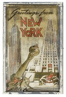 Greetings from New York Fine-Art Print