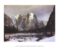Cathedral Rock Yosemite Fine-Art Print