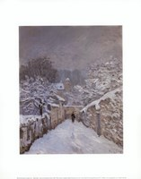 Snow at Louveciennes, France, 1878 Fine-Art Print
