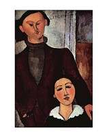 Portrait of Jacques & Berthe Lipchitz Fine-Art Print