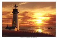 Lighthouse at Sunset Fine-Art Print