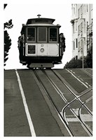 Cable Car Breaking the Crest Fine-Art Print