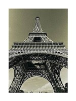 Eiffel Tower Looking Up Fine-Art Print