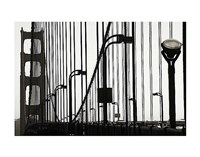 Golden Gate Bridge in Silhouette Fine-Art Print