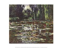 The Bridge Over the Water Lily Pond, 1905 Fine-Art Print