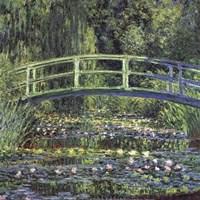 Water Lily Pond, 1899 (blue) Fine-Art Print