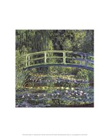 Water Lily Pond, 1899 (blue) Fine-Art Print