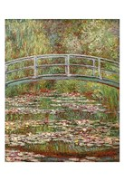 Water Lily Pond, 1899 Fine-Art Print