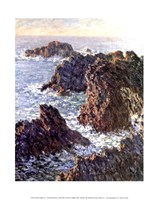 Rock Points at Belle-Ile, 1886 Fine-Art Print