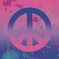 Psychedelic Peace Fine-Art Print