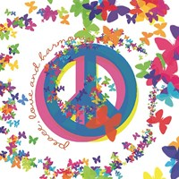 Peace, Love, and Harmony Fine-Art Print