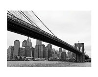 Manhattan from Brooklyn (b/w) Fine-Art Print