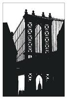 DUMBO Silhouette Fine-Art Print