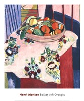 Basket with Oranges Fine-Art Print