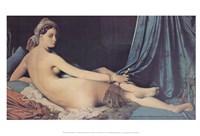 The Grand Odalisque, 1814 Fine-Art Print