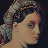 The Grand Odalisque (detail) Fine-Art Print