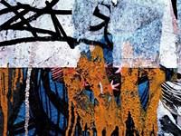 Blue Orange Layers 1 Fine-Art Print