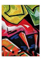 Colorful Graffiti (detail Fine-Art Print