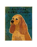 American Cocker Spaniel (buff) Fine-Art Print