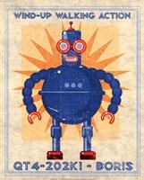 Boris Box Art Robot Fine-Art Print