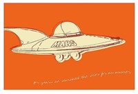 Lunastrella Flying Saucer Fine-Art Print
