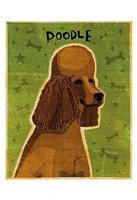 Poodle (brown) Fine-Art Print