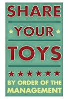 Share Your Toys Fine-Art Print