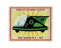 Patrol Craft XT Box Art Tin Toy Fine-Art Print