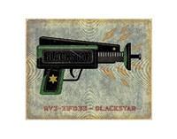 Blackstar Ray Gun Fine-Art Print
