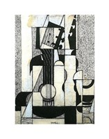 Still Life with Guitar Fine-Art Print